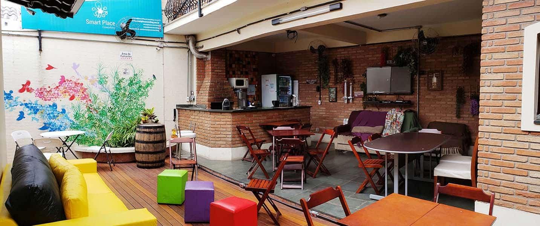 Smart Place Coworking - Área de Convivência e Auditório