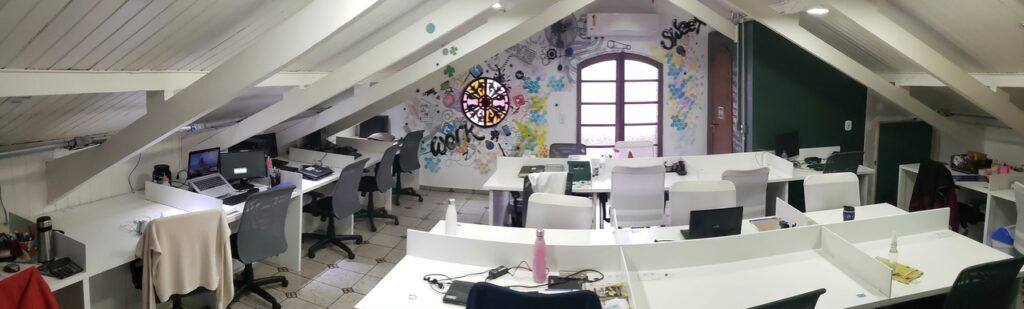 Smart Place Coworking - Posição Fixa Teto