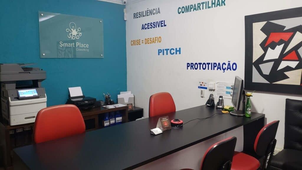 Smart Place Coworking - Recepção