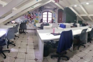 Smart Place Coworking Posição Fixa Teto